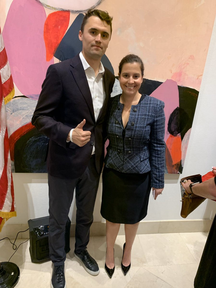 Ever since she exposed to SHAM and SCAM that is Adam Schiff the left has waged all out war on @EliseStefanik   She fights hard against the lies and defended our great President better than any other member this week!  RT to show your support of this terrific patriot!