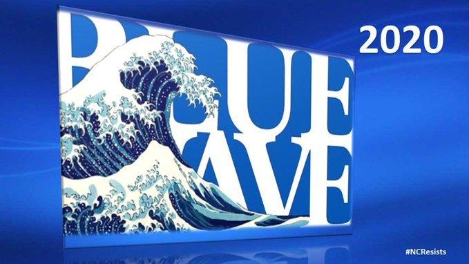 test Twitter Media - @fawfulfan @RedStateBlues_ Yeah! Blue Wave is a Tsunami! Turn it blue. #VoteBlueNoMatterWho2020  #VoteBlueToEndThisNightmare  #VoteBlueToSaveAmerica https://t.co/WqpkoVeG2b