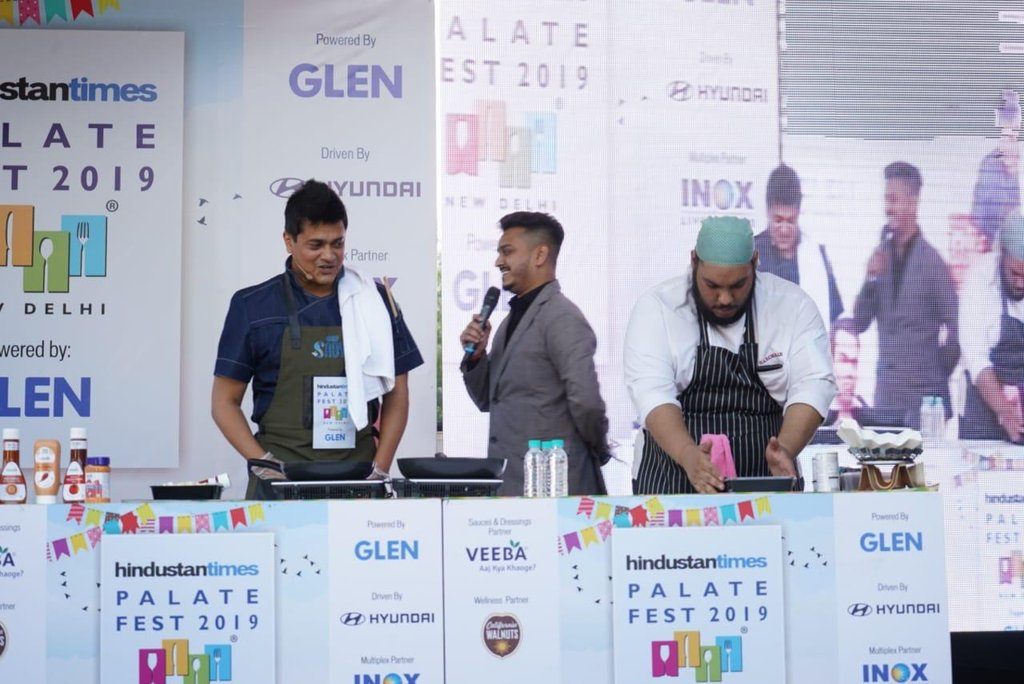 test Twitter Media - Live cooking session with Master Chef @chefSaby as gets busy cooking up culinary delights for everyone! . . #HindustanTimes #DelhiDaily #FoodLove #SoDelhi #WeekendScenes #GoodVibes #WeekendStyle #DelhiNCR #Delhi #DelhiFood #Fooood #FoodGram #ChefLife #MasterChef #ChefSaby https://t.co/lMEZtSpiit