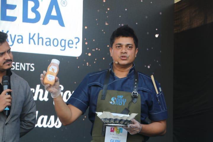 test Twitter Media - MasterChef @chefSaby adding flavours to our everyday life at #HTPalateFest! . . #HindustanTimes #DelhiDaily #FoodLove #SoDelhi #WeekendScenes #GoodVibes  #WeekendStyle #DelhiNCR #Delhi #DelhiFood #ChefLife #MasterChef #MasterClass #ChefSaby #CookingTips #CookingWithChefs https://t.co/n0TL5IHKtU