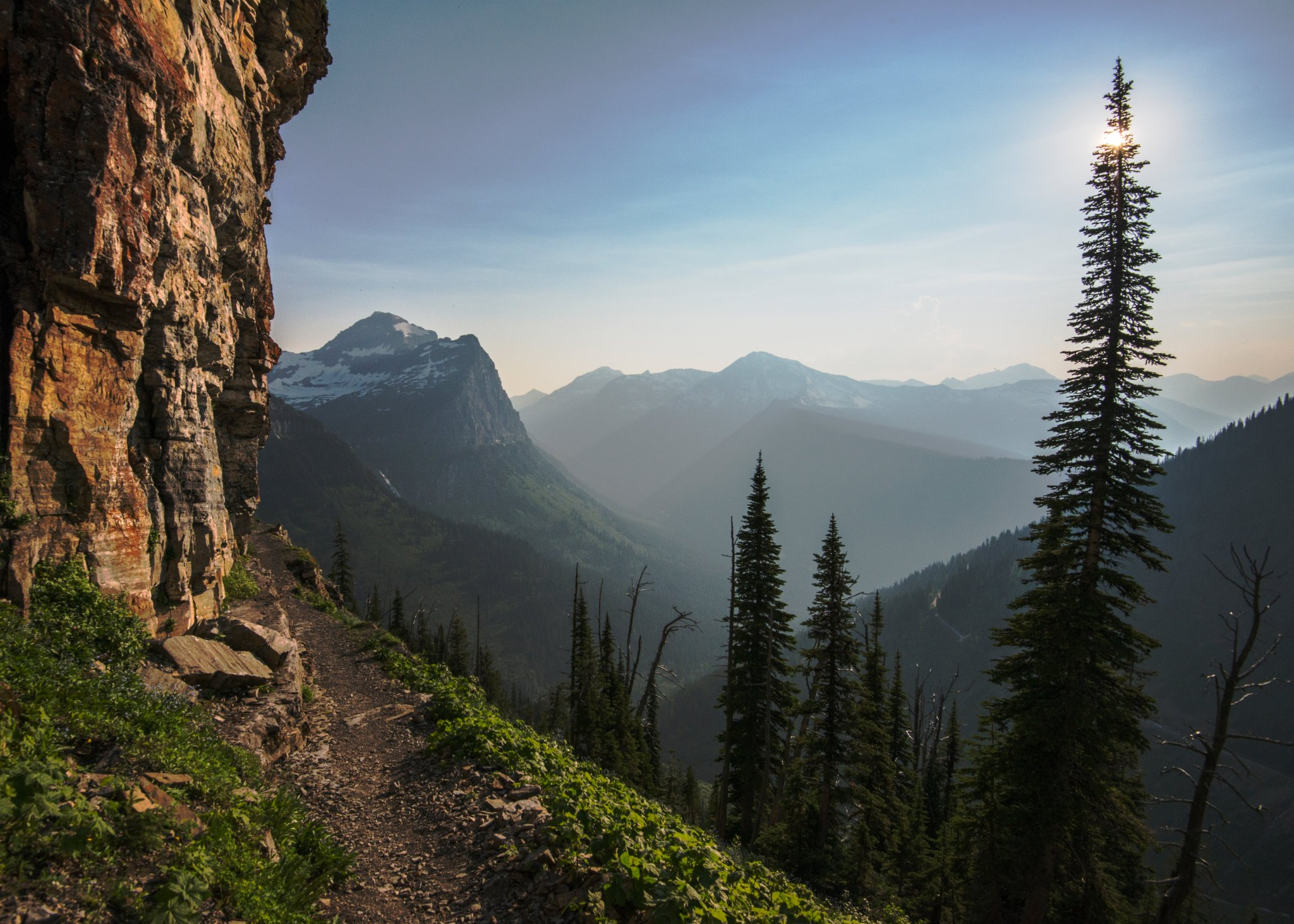 The paths are calling and you must go. Get to a nearby trail and celebrate #NationalTakeaHikeDay!     Photo @GlacierNPS #Montana #FindYourPark https://t.co/t7Zfax1cK3