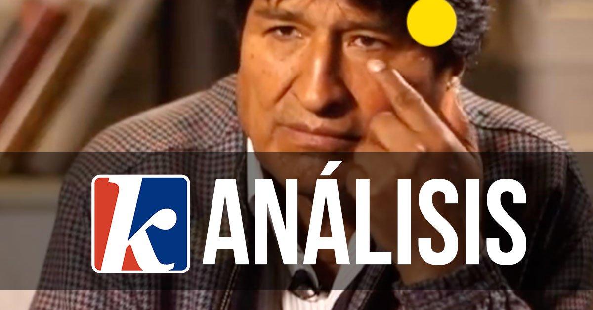 [ Análisis de la entrevista que @bbcmundo realizó a @evoespueblo ]  Uno de los puntos críticos que los bolivianos quieren saber, es qué pasó en esas 24 horas en las que se pausó el conteo de votos.  Antes de comenzar el análisis, menciono un principio importante al entrevistar: