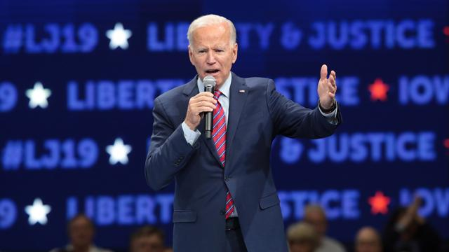 "Biden says he won't legalize marijuana because it may be a ""gateway drug"""