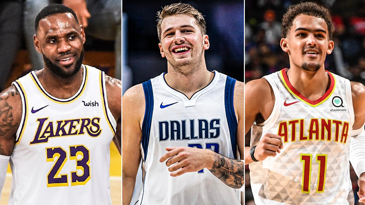 Most 30-Pt, 10-Ast games this season:  🏀 LeBron James - 4 🏀 Luka Doncic - 3 🏀 Trae Young - 3