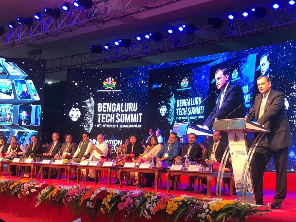 test Twitter Media - Sir Dominic Asquith jointly inaugurates @blrtechsummit with @CMofKarnataka @BSYBJP, Dy CM @drashwathcn & @TVMohandasPai @kiranshaw, @kris_sg.   HC @UKinIndia emphasises #ArtificialIntelligence, #cybersecurity & #fintech as the three pillars of vibrant #tech ties between 🇬🇧 & 🇮🇳. https://t.co/jfs63AvkY5