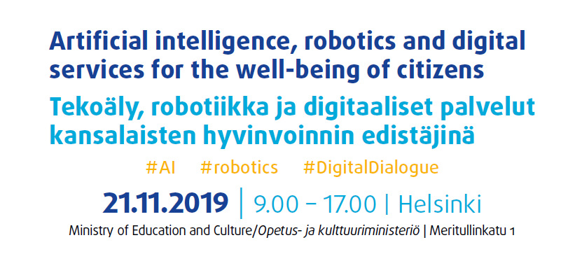 test Twitter Media - 🔴 Last few days to register!  🇪🇺 * 21 NOV 2019 * EESC event on #ArtificialIntelligence #DigitalDialogue #wellbeing #Helsinki #AI #robotics #health @EESC_TEN @EESC_INT @EU2019FI  📌 Info: https://t.co/J2BWrMRzMm ▶️ https://t.co/4012YJgLDe  📩 Media inquiries: press@eesc.europa.eu https://t.co/BpGDQPLeCz
