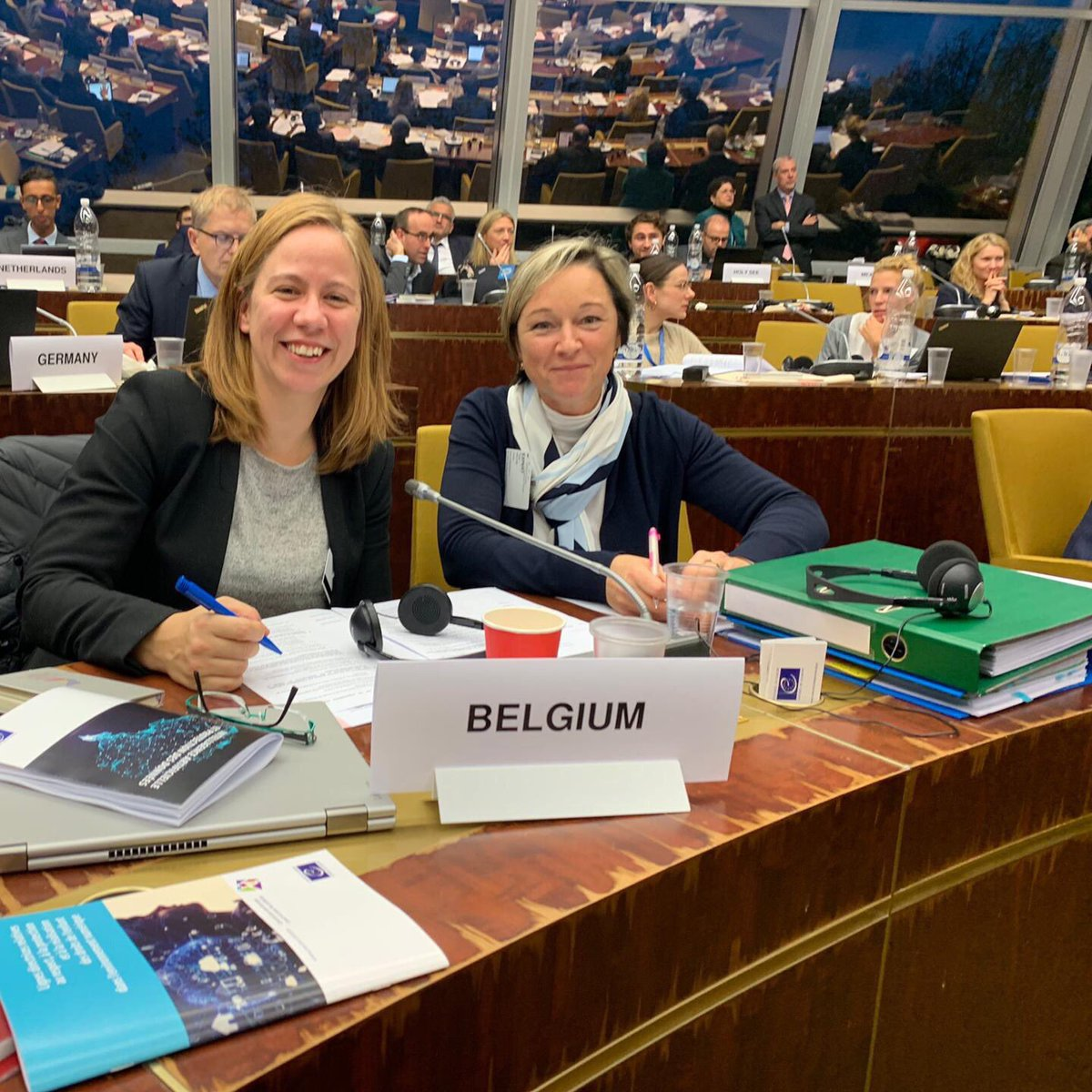 test Twitter Media - Congratulations to @gregorstrojin (#Slovenia🇸🇮), newly elected President of the @coe Ad hoc Committee on #ArtificialIntelligence and to @PeggyValcke (#Belgium🇧🇪) as Vice-President! ℹ️ https://t.co/FKflLJuWl3 #COE4AI #CAHAI https://t.co/TVSkRH0Xbx