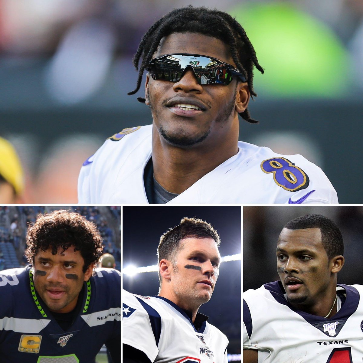 In the past four weeks, Lamar Jackson and the Ravens have beaten ...  ✅ Russell Wilson ✅ Tom Brady ✅ Deshaun Watson
