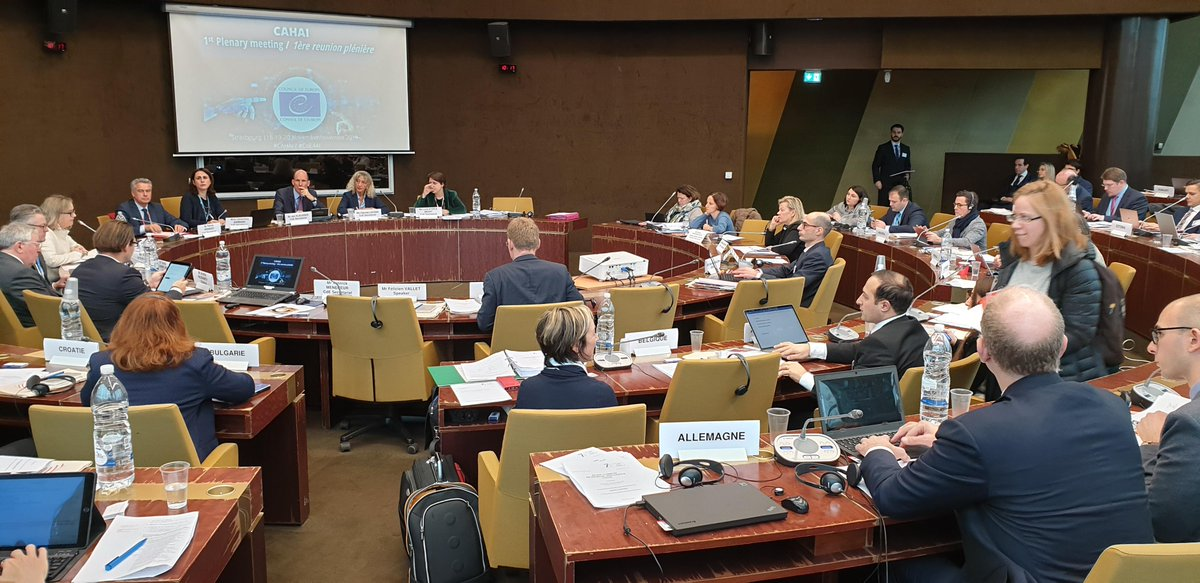 test Twitter Media - First meeting of Council of Europe's (@coe) new Ad hoc committee on #ArtificialIntelligence #CAHAI: Exploring the need of new legal instruments in this area. #CyberAA https://t.co/VH27FbvYEc