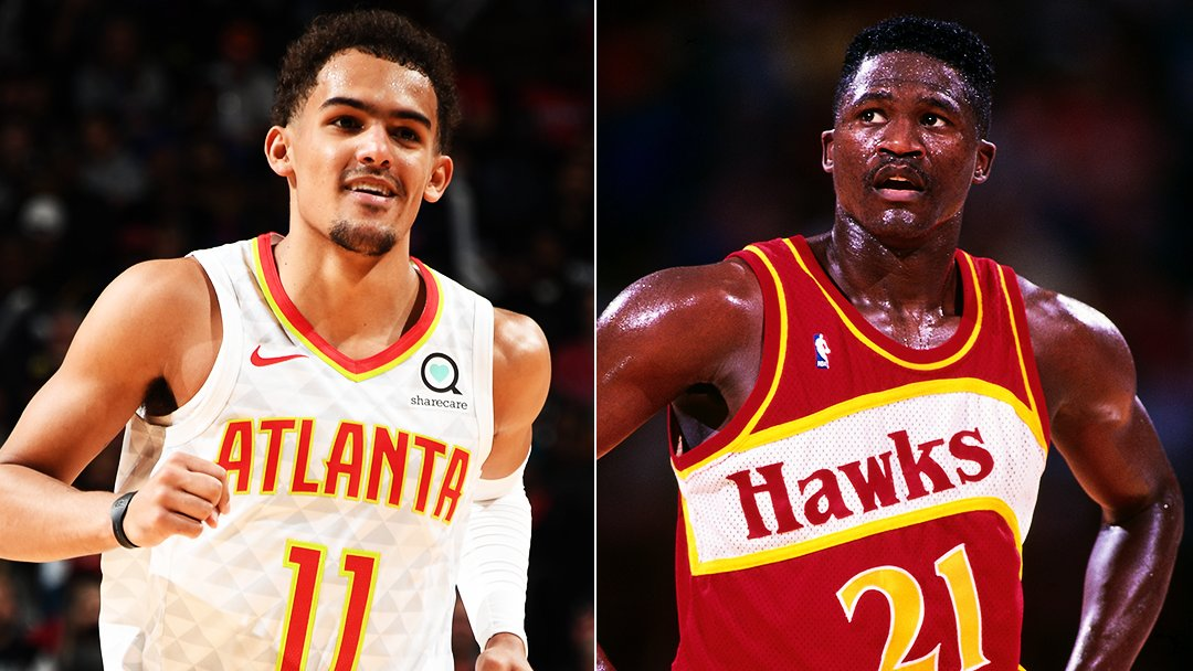 Trae Young has six 30-point games this season 🔥  That's the most through the @ATLHawks' first 13 games since Dominique Wilkins had 8 such games in 1992-93.