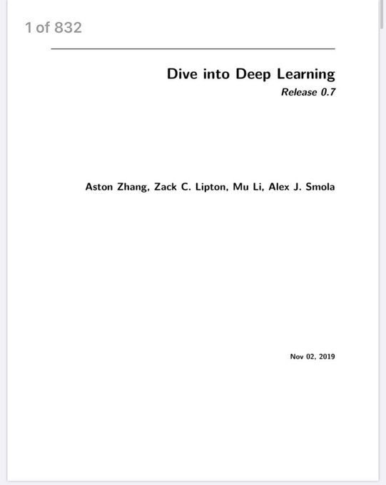 test Twitter Media - #Ebook available for free download - Dive into #Deeplearning. Link to #Github included https://t.co/AuQ54ywy56 https://t.co/8x7zJhZFGl