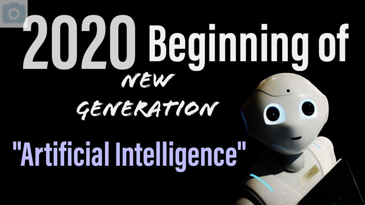 test Twitter Media - #2020 #ArtificialIntelligence #robots #newgeneration https://t.co/G3Kj2JtCIj