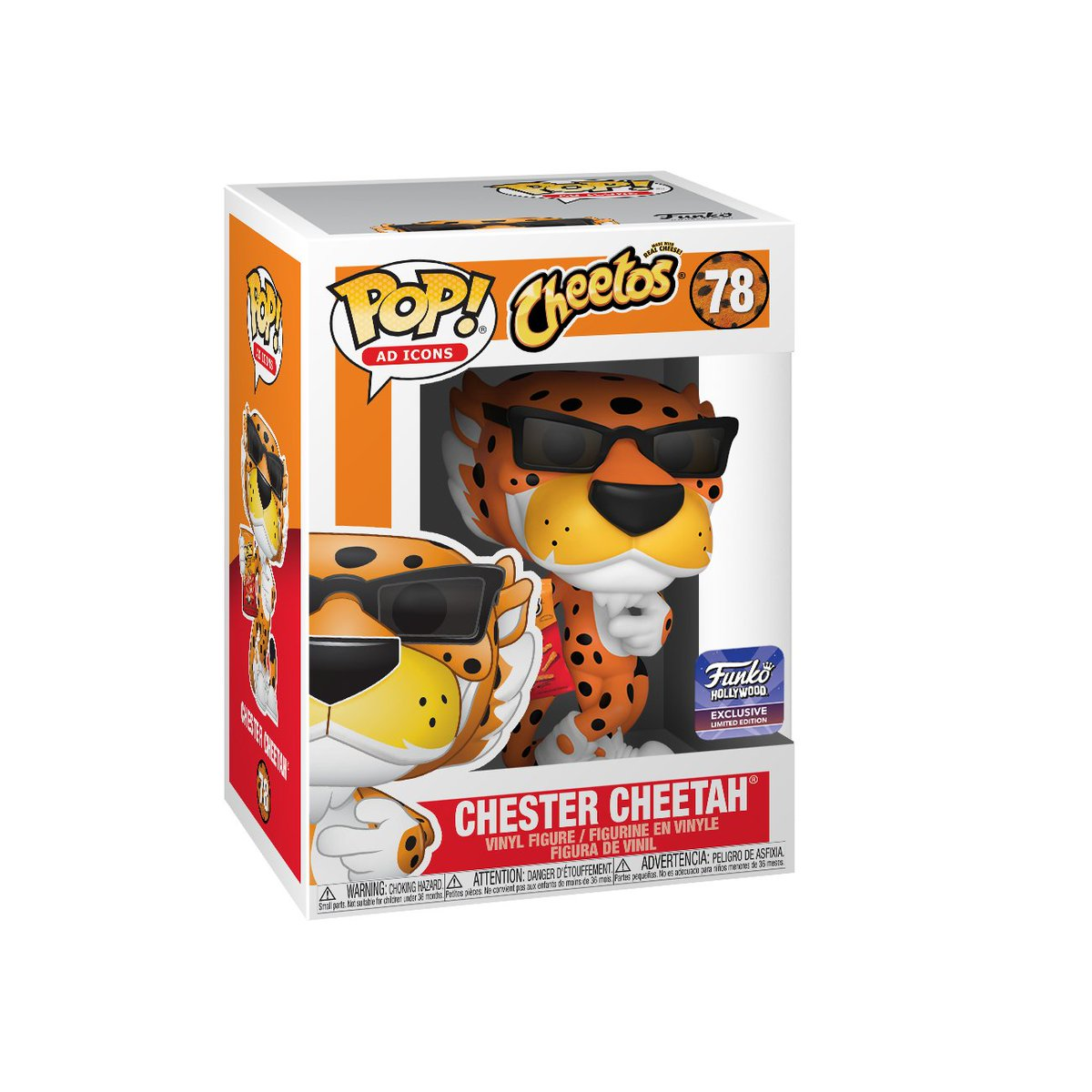 RT & follow @OriginalFunko for a chance to win a Funko Hollywood exclusive @ChesterCheetah Pop!  #Funko #Pop #FunkoHollywood #Giveaway #Exclusive