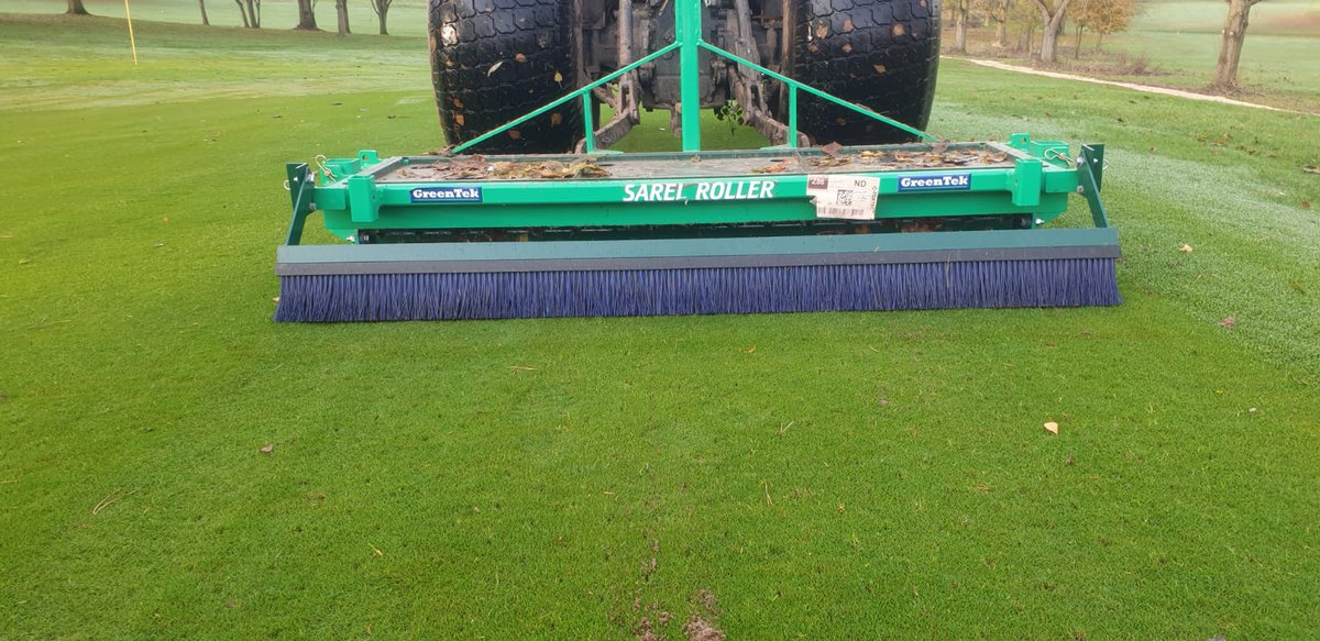 test Twitter Media - Great to get some golfers out today @IngestreParkGC @andyb381 .  Aeration this afternoon ahead of a cut and roll.  All looking a lot better for a couple of dry days at last   well done lads.  It's not an easy job in these conditions.  The hard work is appreciated https://t.co/waoThUkEt1