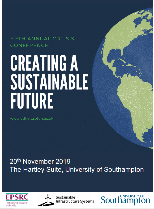 test Twitter Media - Tomorrow is the 5th Annual CDT-SIS conference at the University of Southampton. Keynote speaker- Richard Burrett Chief Sustainability Officer at Earth Capital. CDT-SIS Students and Staff from University of Southampton will also be presenting their work. #Sustainability @CDTSIS https://t.co/9GgIAM3Tfg