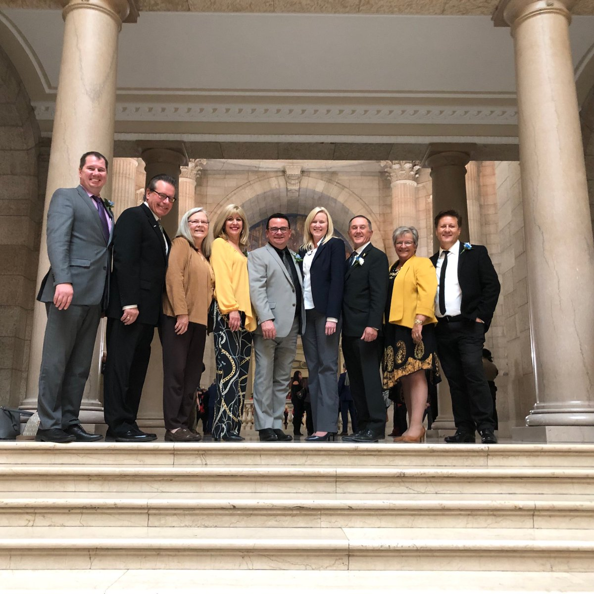 test Twitter Media - Celebrating the the opening of the 2nd session of the 42nd legislature with regional mayors and colleagues! #MBspeechfromthethrone2019@JeffWharton4MLA @cathycox @cityofselkirk @RMofstandrews @MartinforMLA @Min_Schuler https://t.co/KVcTUNaj6n