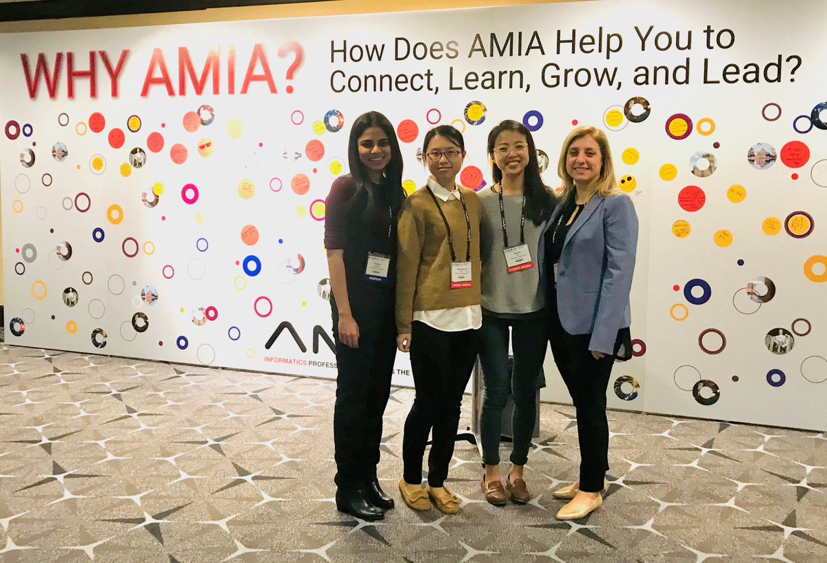 test Twitter Media - Rewarding to witness students' growth in informatics and science. Congrats to these finalists of student paper and best paper award @UPennIBI @UPennDBEI #AMIA2019 https://t.co/O480SFD63T