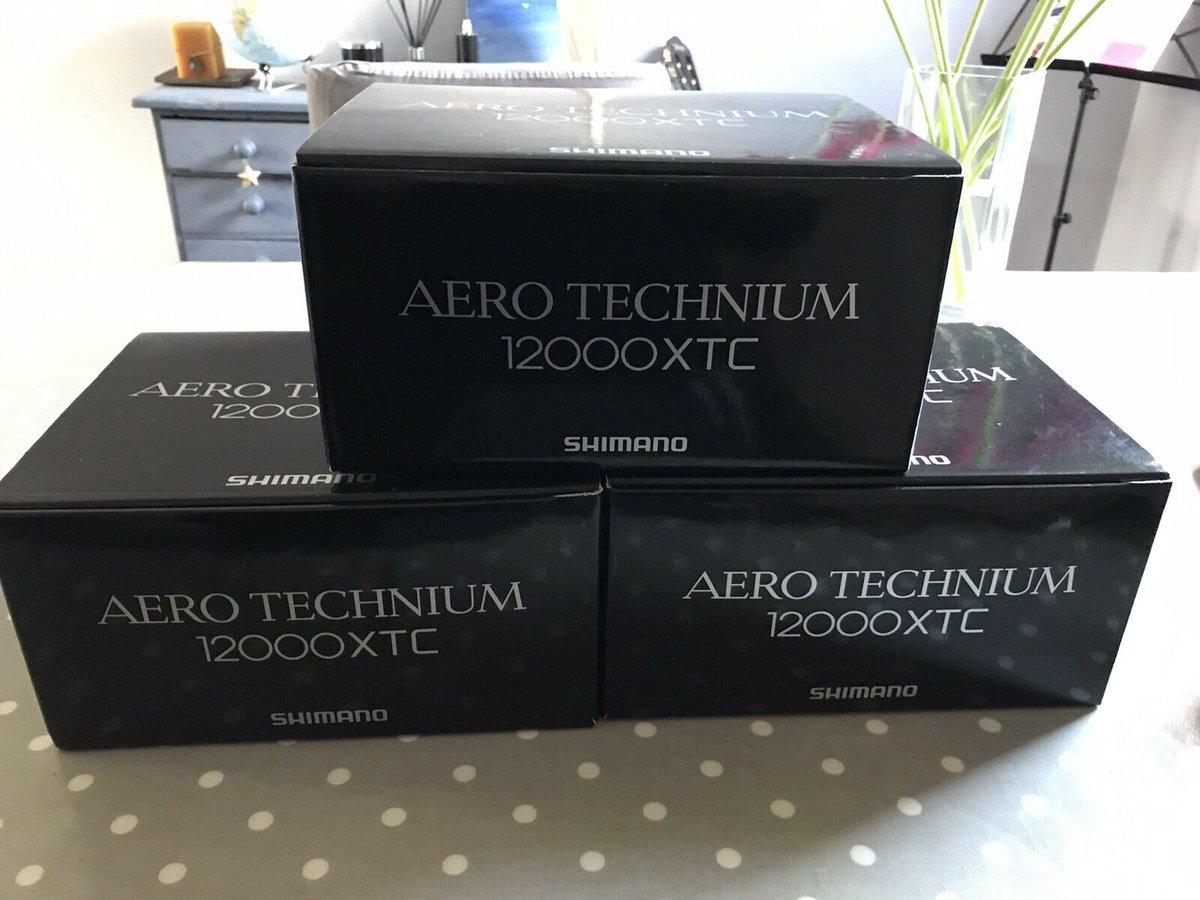 Ad - SHIMANO AERO TECHNIUM 12000 XTC REELS On eBay here -->> https://t.co/HZWzDGIZM6  #carpfis