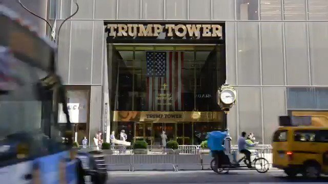 36 years since its completion, @TrumpTower New York still stands as a world famous testament to @Trump grand vision