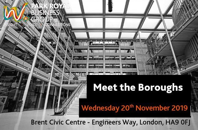 Last chance to attend the 'Meet the Boroughs' event this evening. Meet key figures from Brent & Ealing Councils and network with local businesses!   Book your place now:   #businessinbrent #brent #networking #ealing