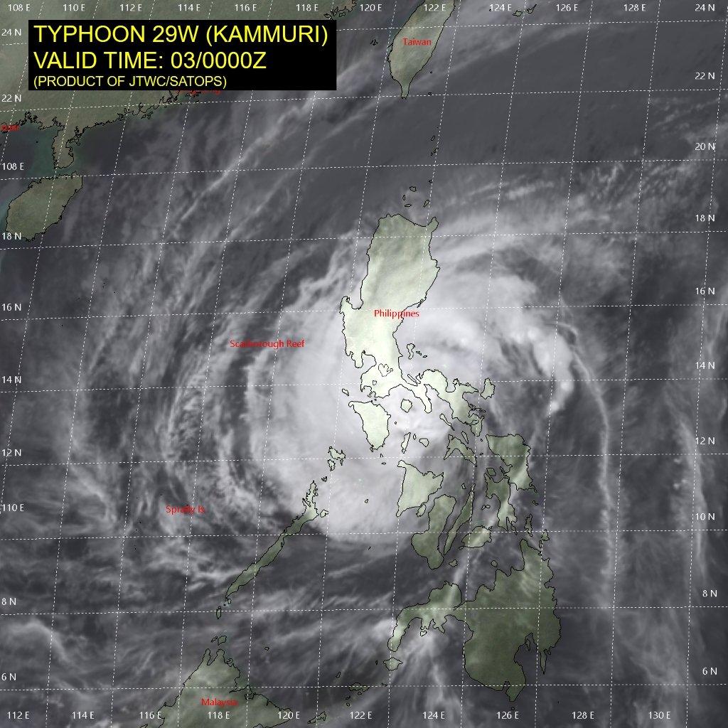 test ツイッターメディア - 03日09:00台風28号(カンムリ)は「強い」台風に変わりました。中心気圧960hPa、中心付近の最大風速40m/s、最大瞬間風速60m/s。フィリピンを20km/hで西へ。 https://t.co/nHtJFPdFDC https://t.co/a2MmeOl0xo Joint Typhoon Warning Center (JTWC) https://t.co/kajXueFOmV https://t.co/8wsSBopxAm