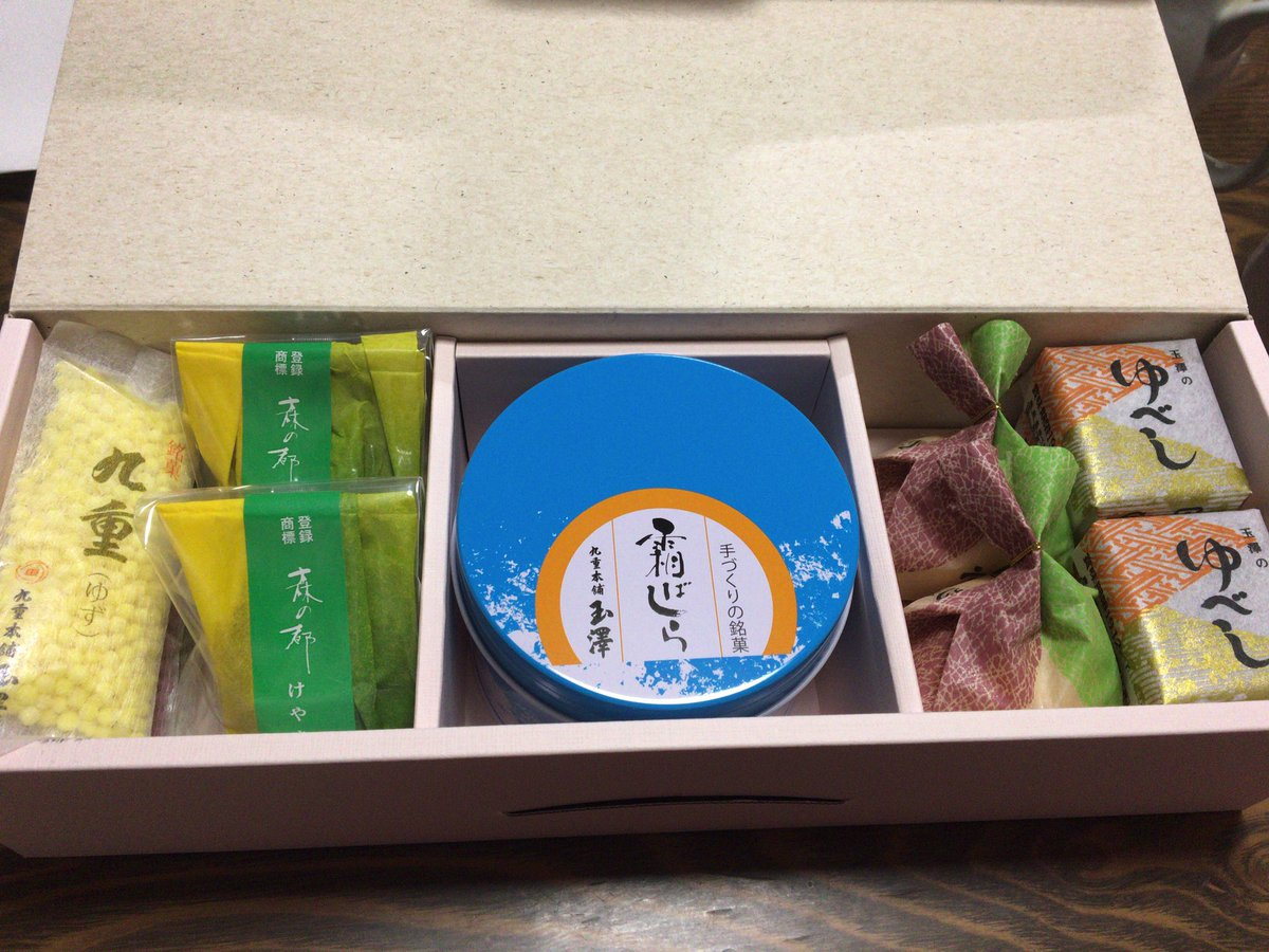 test ツイッターメディア - 仙台土産!開封!!!!!! 霜ばしらのために菓子折り買ったのだ https://t.co/Y7obyuN4w9