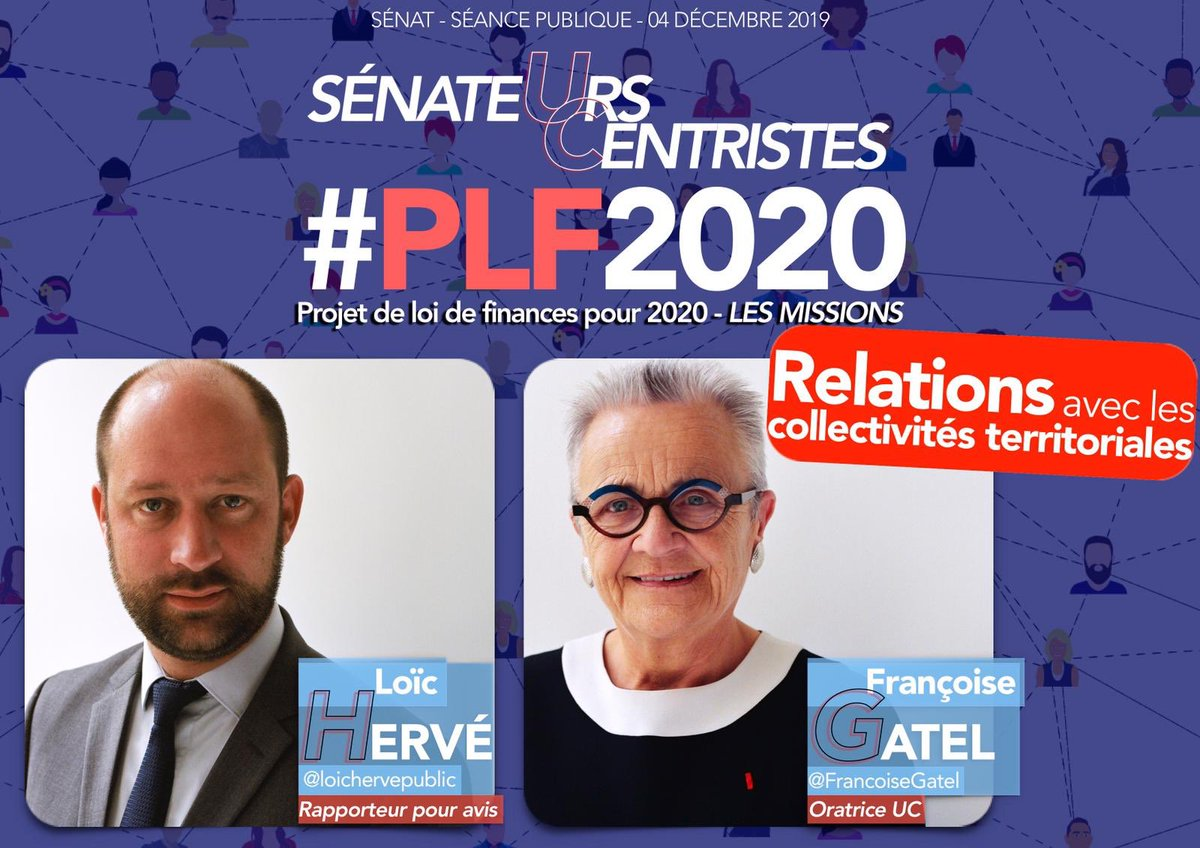 RT @UC_Senat: #PLF2020 - Mission relations avec les #collectivitésterritoriales 🇫🇷