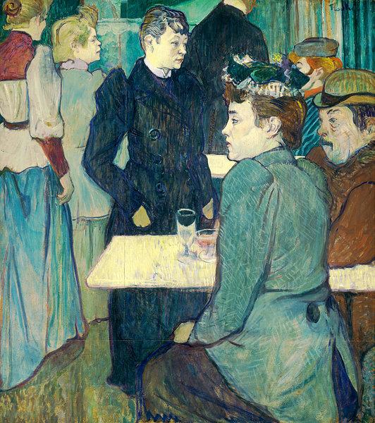 Henri de Toulouse-Lautrec    - Un coin du Moulin de la Galette https://t.co/EwZC3STQeX