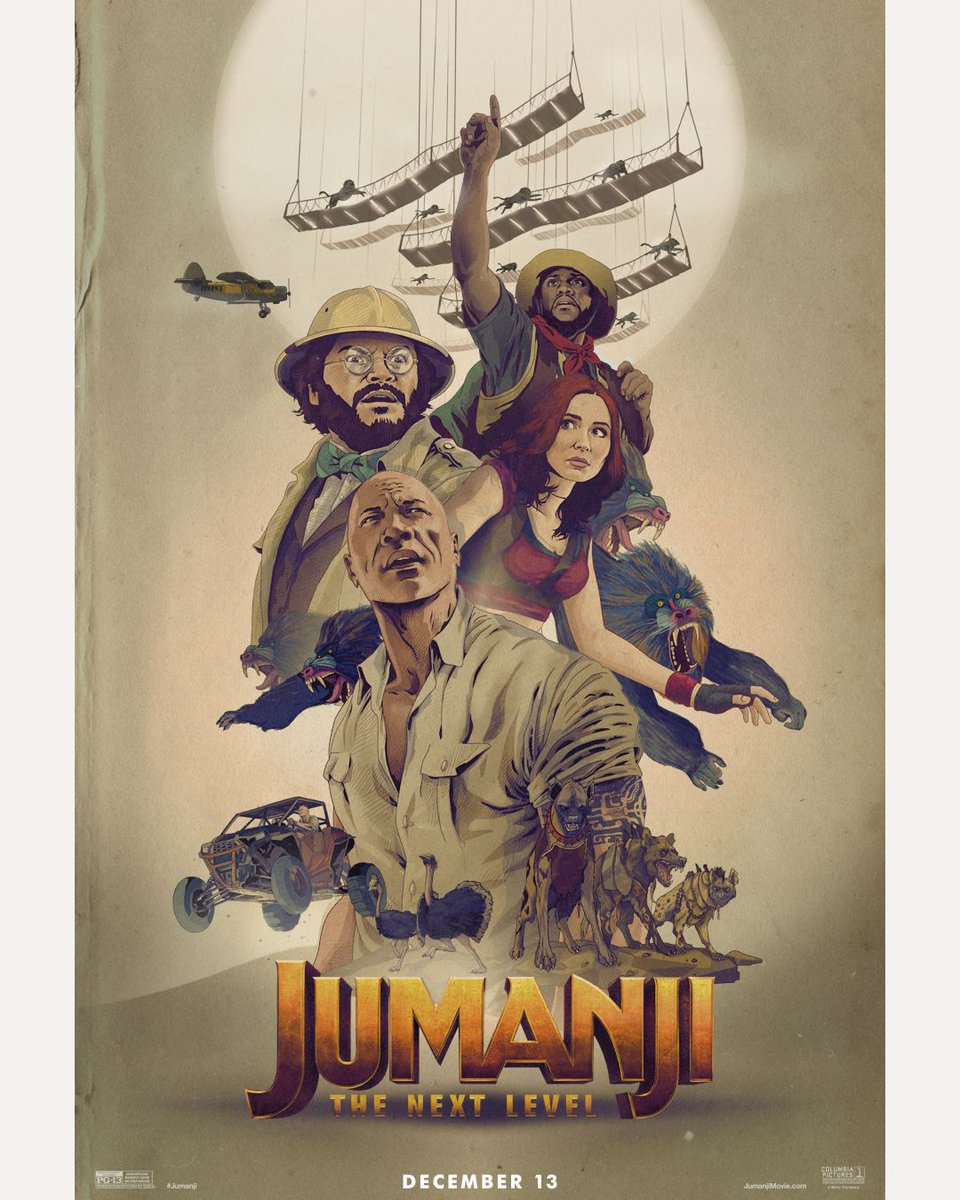 test Twitter Media - New fan art for #Jumanji The Next Level. Get ready now! Buy your tickets in D-BOX today: https://t.co/pnr7hBkCc8  //  Achetez vos billets pour voir #Jumanji en D-BOX dès maintenant: https://t.co/qS25Srp7Pw https://t.co/eClmJgqsF0