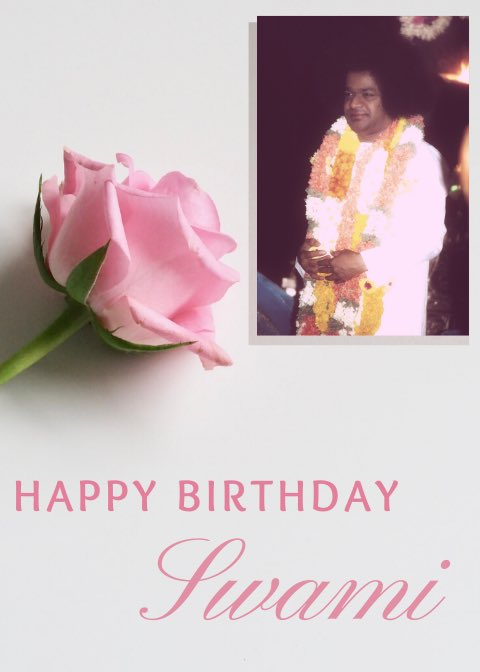 Keep us ever at Your service, let us always spread the fragrance of Your love.. what more can we pray for, even as we wish #HappyBirthdaySwami - Team Radio Sai