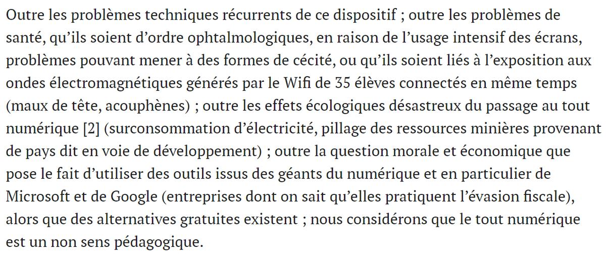 test Twitter Media - Non au tout numérique à l'école ! #lycee40 @JeanROTTNER @regiongrandest  https://t.co/5ArGW9UyuB via @Mediapart https://t.co/xNO2APIGZn