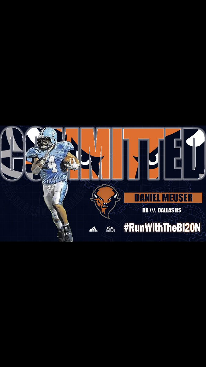 First, thank you to my family, my past coaches and teammates for pushing me to never settle in life. I could not be more blessed and excited to announce I have committed to Bucknell University ! Thank you to Coach Collins and the rest of the staff for believing in me. Go Bison !