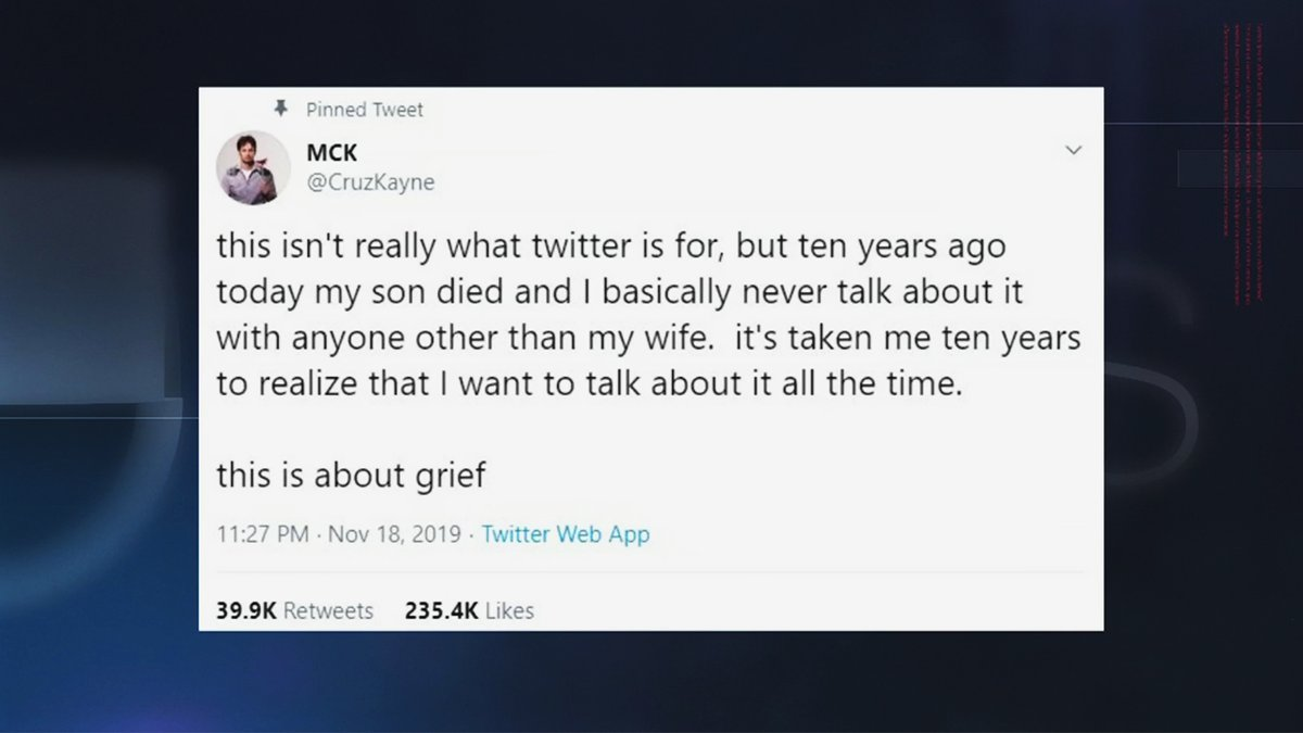 #UNews spoke to Comedian @CruzKayne who is making headlines for addressing a subject that's difficult to talk about...#grief. He recently sent out a tweet that started a conversation. Check out this very intimate interview.