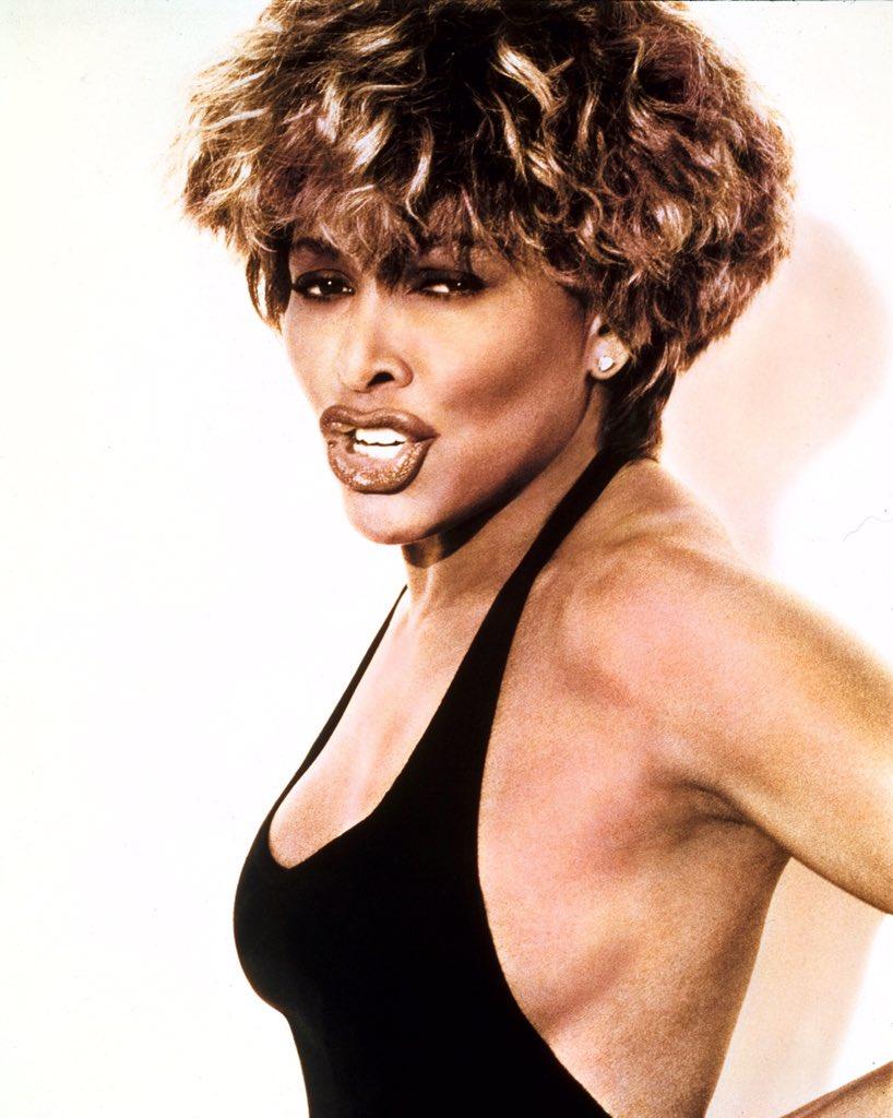 80 & STILL fabulous!  Happy b'day, #Tina 👑