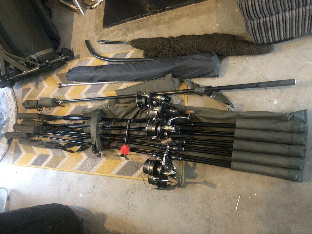 Ad - Full Carp Fishing Set-up For Sale On eBay here -->> https://t.co/BsgHgEXIfN  #carpfishing