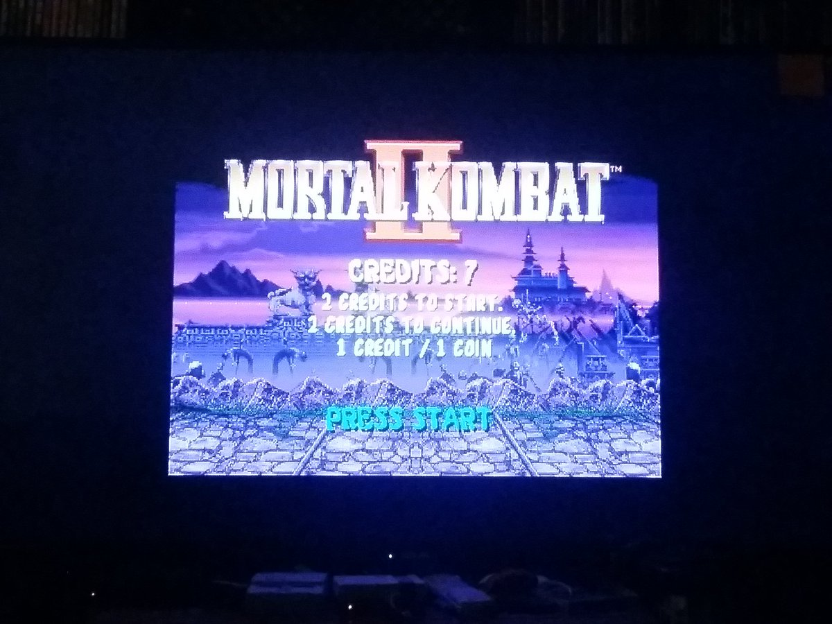 test Twitter Media - while waiting in line for the #SNESClassic, this guy said h could hack my system. i had him add some arcade games to my #NESClassic. the greatest fighting game ever, #MortalKombatII https://t.co/cupNKZ5U1w