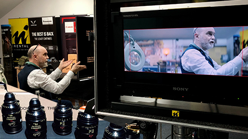 ?GREAT '#Cooke Anamorphic FF Prime Lenses all you need to know event' yesterday @Visual_ImpactUK , Teddington. Thank you all for coming !