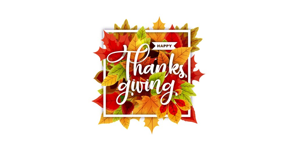 Wishing all our customers and partners a Happy Thanksgiving! https://t.co/JuMrtEcilt