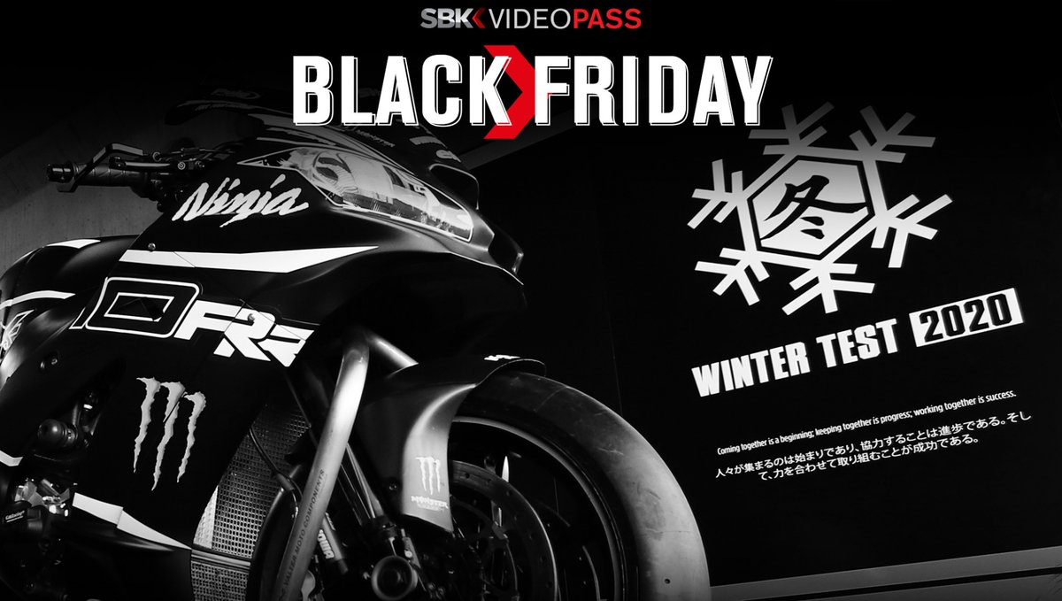 test Twitter Media - Black Friday! Watch all the 2020 Pre-Season for just 1 €  Don't miss our special offer! Follow the Winter Tests and get access to all the WorldSBK VideoPass contents at a very special price for nearly three months …  📃| #WorldSBK https://t.co/T8riVcbUj2 https://t.co/tqlGsA2znJ