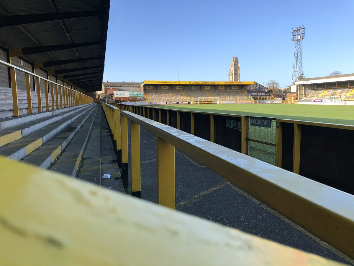 test Twitter Media - We've spent the morning with @chrisdawkesITV from @itvcalendar at the new @bostonunited ground and the current ground, to watch his report tune in Calender later! https://t.co/gKTnntDb7c