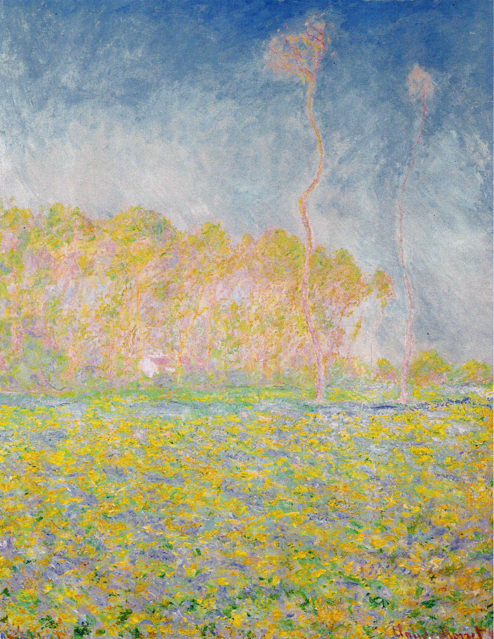 Springtime Landscape, 1894 #monet #frenchart https://t.co/mexosGaaey