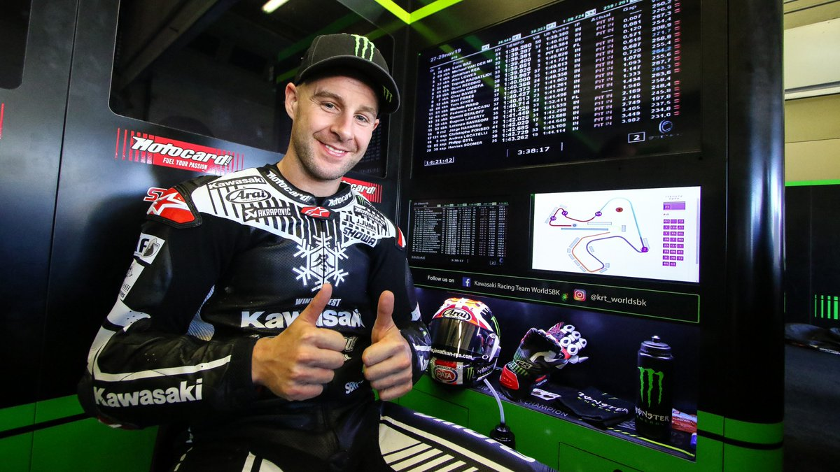 test Twitter Media - 🤴@jonathanrea fights back to end Jerez test on top, @lorisbaz impresses in second  The reigning five-time WorldSBK Champion fended off a resurgent Loris Baz, who is back at the front of WorldSBK  📃REPORT | #WorldSBK https://t.co/rX5nh6w3xL https://t.co/RW5Od7ej8b