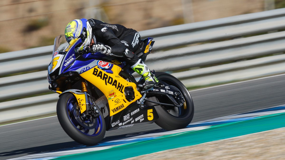 test Twitter Media - #WorldSSP: Andrea Locatelli set the pace on the final day of testing in Jerez  With weather conditions welcoming more track action it was the Italian WorldSSP rookie to end the final day of testing on top  📃 | #WorldSBK https://t.co/0yLb3LDj2A https://t.co/YJl1lE4HUF