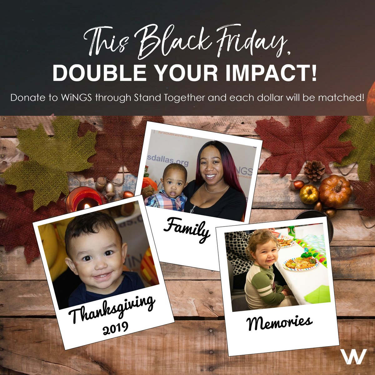 test Twitter Media - #BLACKFRIDAY HAS ARRIVED! It's time to make that dollar count TWICE with a donation to WINGS! Each and every single dollar is matched when you donate at this link: https://t.co/XxnWNHhB9a  #GiversGain #ThankYou https://t.co/QuimOLJkJV