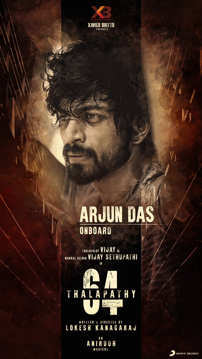 Extremely happy to welcome @iam_arjundas onboard for #Thalapathy64