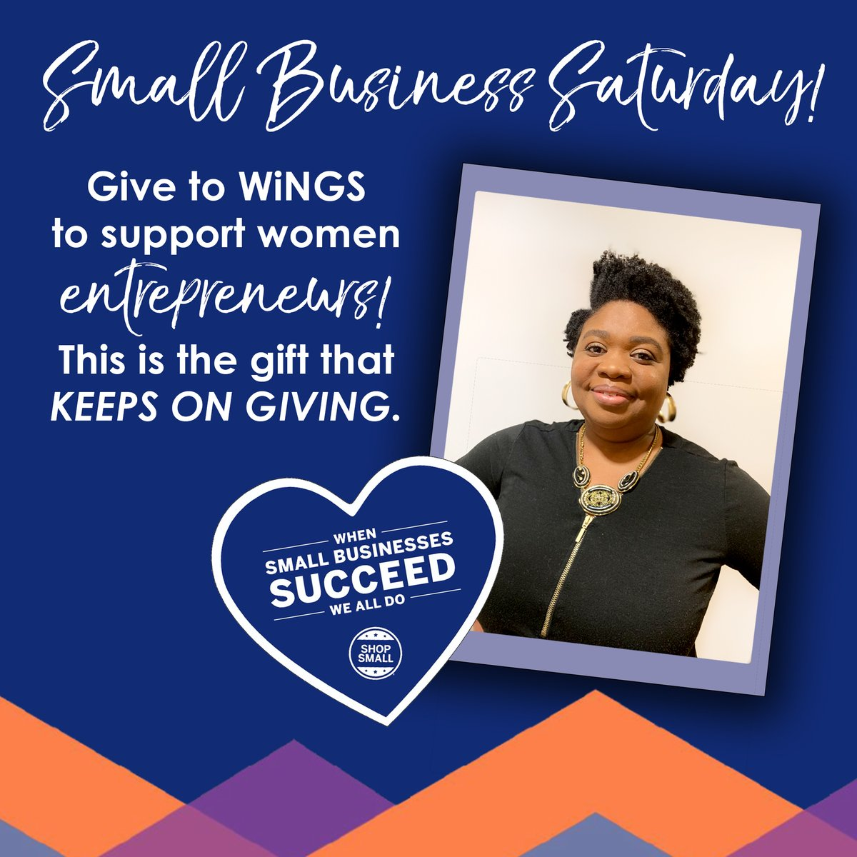 test Twitter Media - SMALL BUSINESSES ARE NEAR AND DEAR TO OUR HEARTS. Support a community of small business owners by donating to WiNGS Women's Enterprise Center program! https://t.co/Ng6XSLKZjD Small businesses are such a beautiful way to impact a woman and a family! #givetoday https://t.co/EgiNQXSFYJ