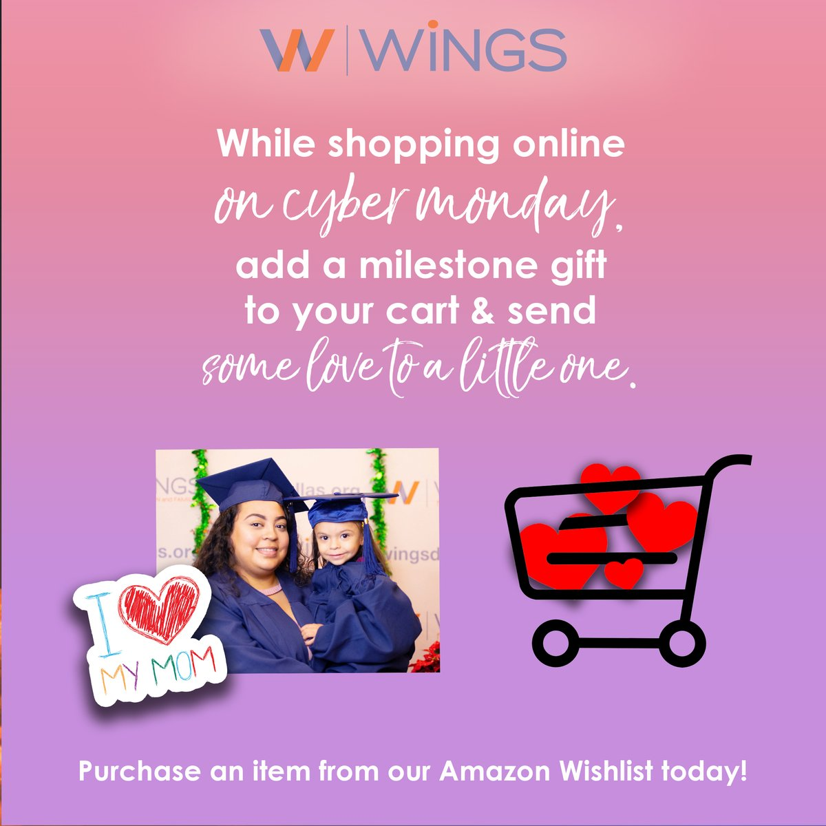 test Twitter Media - Baby fever on Cyber Monday? Add a milestone gift to your Amazon cart today and your gift will go directly to moms living under the poverty line right here in our Dallas community. Check our our wishlist here to see what items are most needed: https://t.co/GyxM9MpVHt  #thankyou https://t.co/frrKW6B6y7