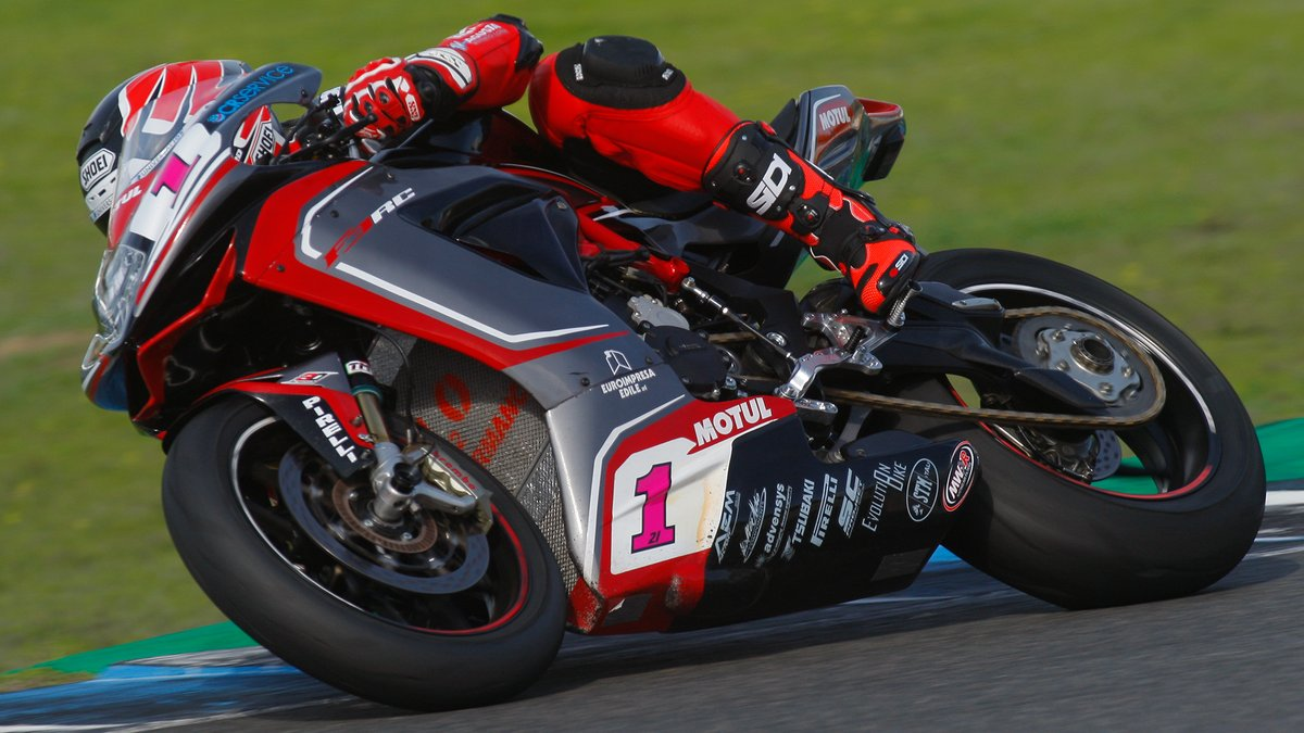 test Twitter Media - .@Krummenator dons MV Agusta red for the first time - Hear his thoughts from Jerez!  📹INTERVIEW | #WorldSBK https://t.co/25q66X6Bzd https://t.co/ZTeMO3rcWo