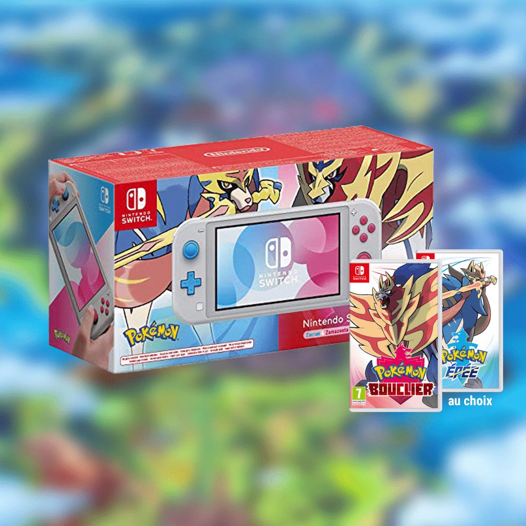 🔥 CONCOURS SWITCH POKÉMON ⚔️ 🛡️  Un cadeau de Noël en avance ! Gagnez cette Switch Lite collector + le jeu Pokémon version Épée OU Bouclier.  RT ce tweet + Follow @JVCom !  Fin le 09/12 14h. Règlement :