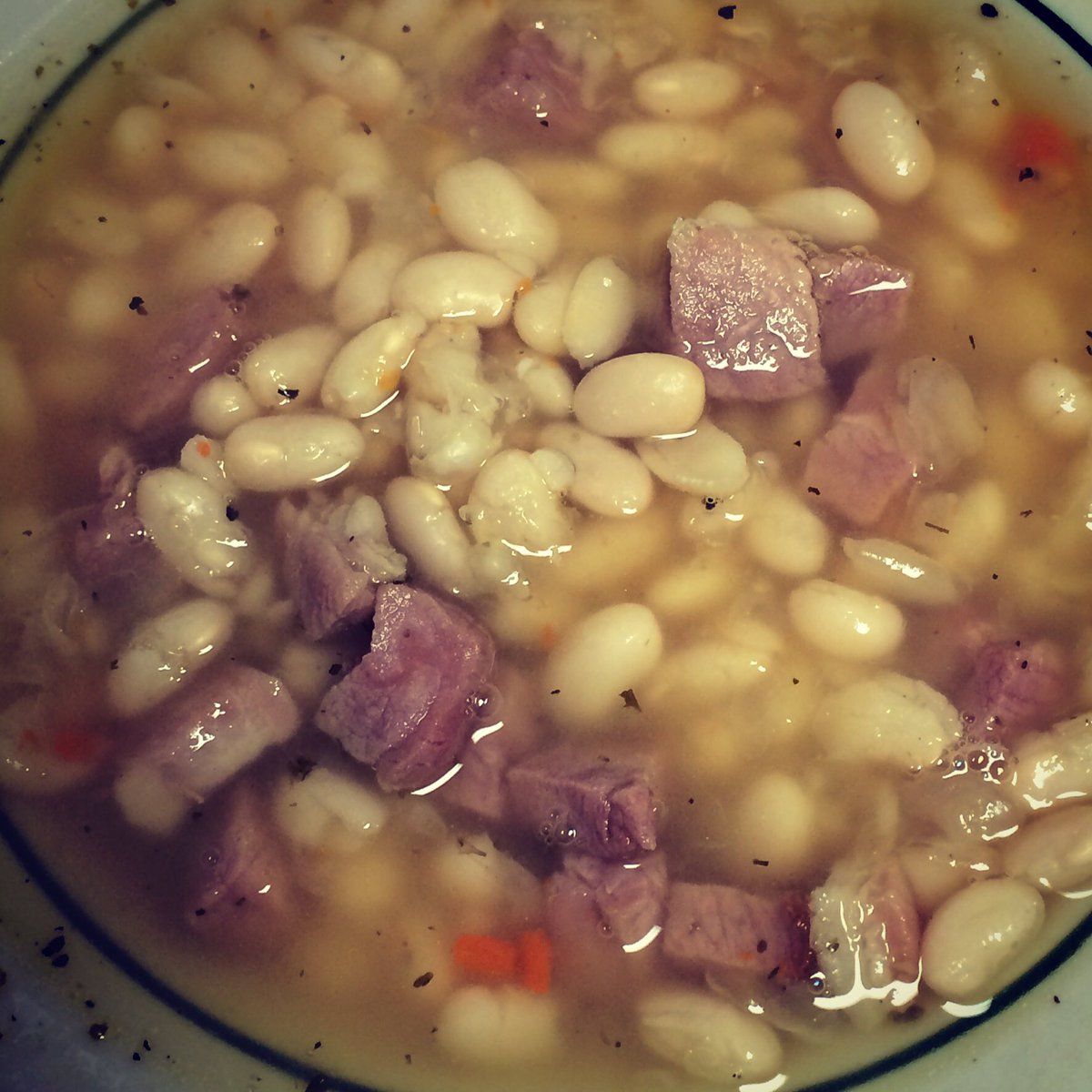 test Twitter Media - White bean and ham soup to start off the week at Lazy Pete's! https://t.co/HaDVZP5ouA